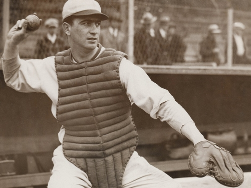 'The Spy Behind Home Plate' presents a ballplayer who was one of a kind