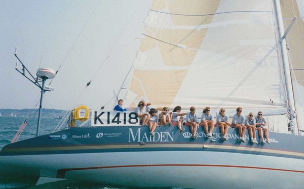 Maiden documentary navigates more than the ocean