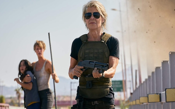 'Terminator: Dark Fate': Linda Hamilton saves the world, and a franchise is lifted out of mediocrity