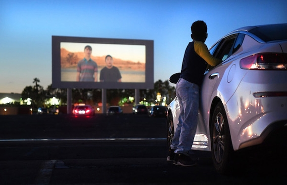 Amid coronavirus outbreak, drive-in theaters unexpectedly find their moment