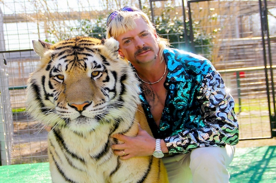 Imprisoned 'Tiger King' star Joe Exotic is 'over the moon' to be famous, directors say