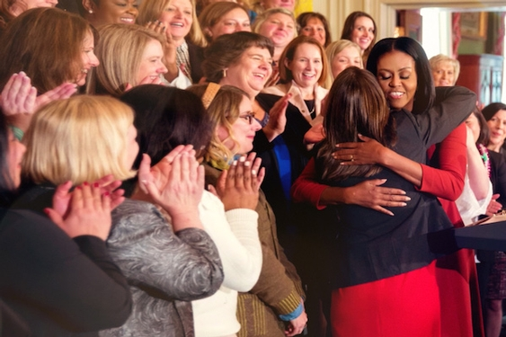 How the director of 'Becoming' got inside Michelle Obama's motorcade