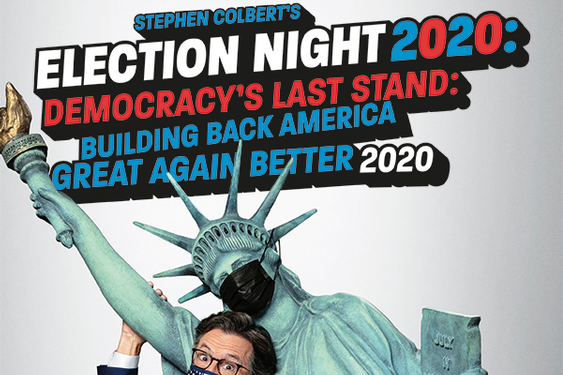 Stephen Colbert to Host Election Night Special on Showtime (Tues., November 3 at 11PM EST)