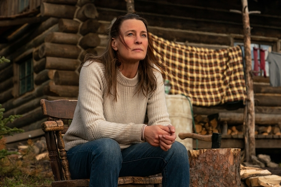 A moving story of grief in the wild, Robin Wright's directing debut doesn't fully 'Land'