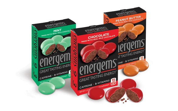 Turn to Chocolate-Caffeine Energems for Quick Boost