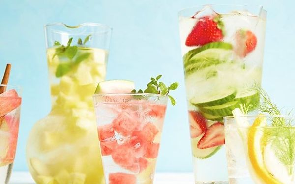 For the healthiest drinks around, try these infused waters from Food Network Kitchen