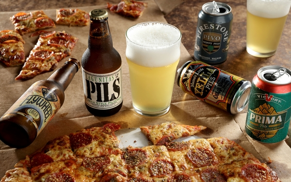 5 beer styles that go perfectly with 5 pizza styles