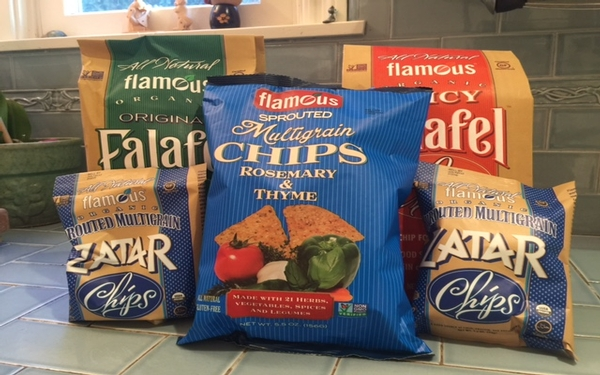 Flamous offers health and a twist to traditional chips for dips