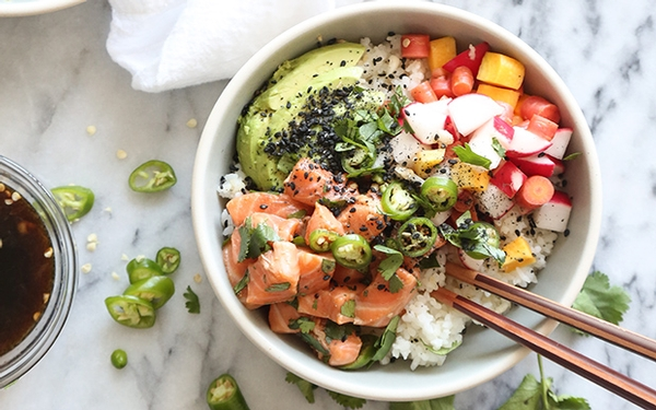 Trendy poke is easy to make at home