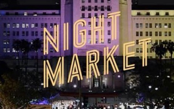 LA Times Night Market at Grand Park in DTLA