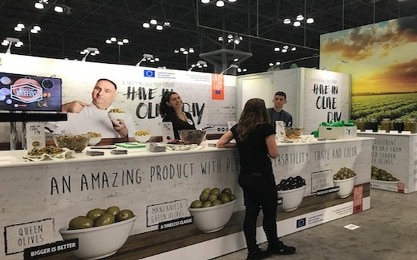The Summer learn about European Table Olives in NYC (June 30th thru July 2nd)