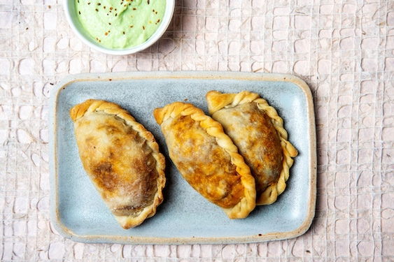 We're nuts for these vegan picadillo empanadas