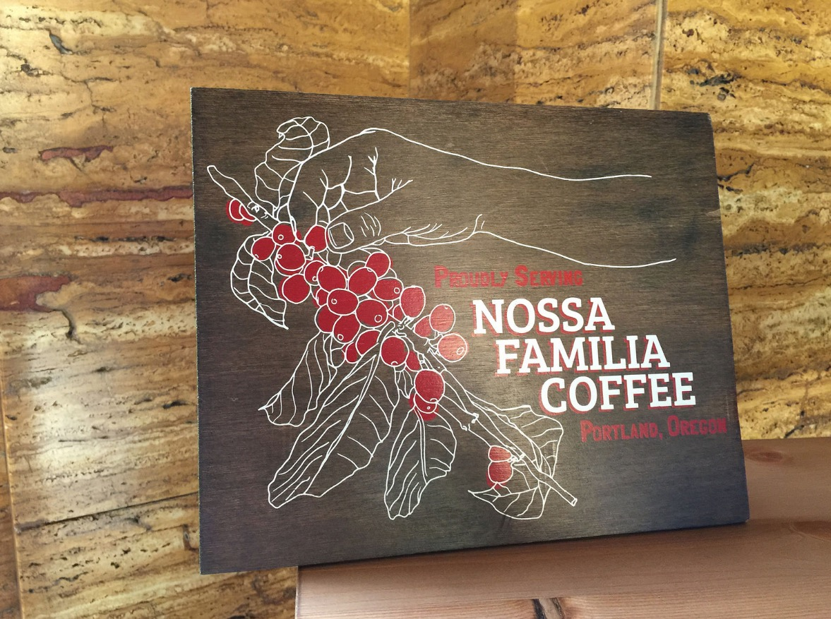Nossa Familia Coffee in the Cal Edison Bldg.