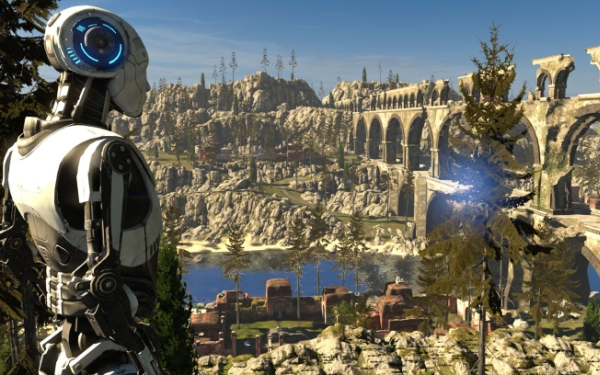 <i>The Talos Principle</i> blends philosophy, puzzles on Shield TV