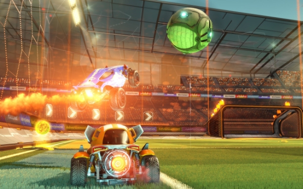 'Rocket League,' a new sport emerges out of radio-controlled chaos