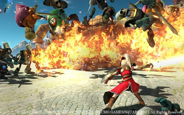 A monster mash in 'Dragon Quest Heroes: The World Tree's Woe and the Blight Below'