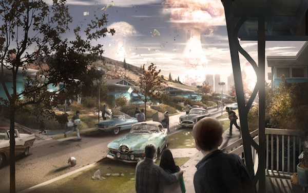 War only slightly changes in 'Fallout 4'