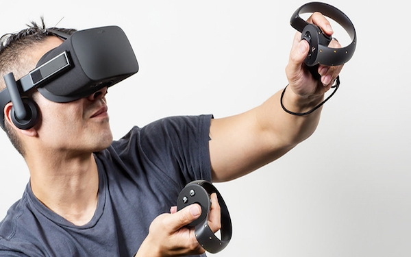 Two thumbs-up for Oculus Touch