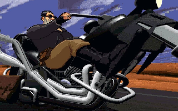 'Full Throttle Remastered,' when I'm on the road, I'm indestructible