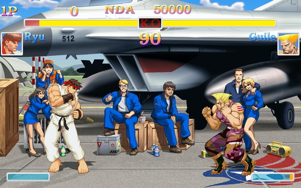 'Ultra Street Fighter 2: The Final Challengers,' go home and be a family man