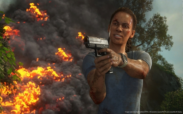 'Uncharted: Lost Legacy' treads a mostly familiar path