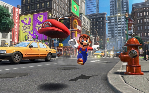 'Super Mario Odyssey,' a clever tip of the hat