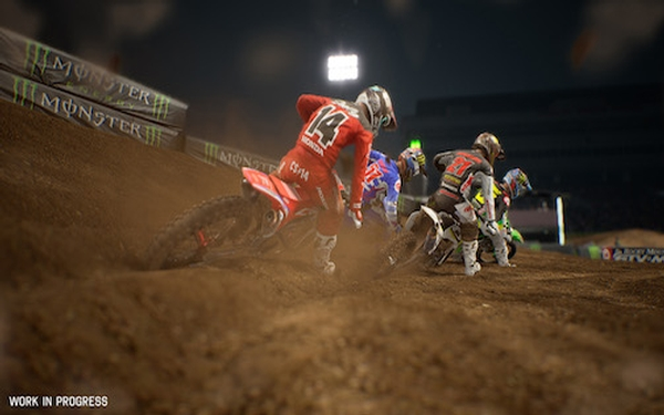 'Monster Energy Supercross 2,' digging in deep
