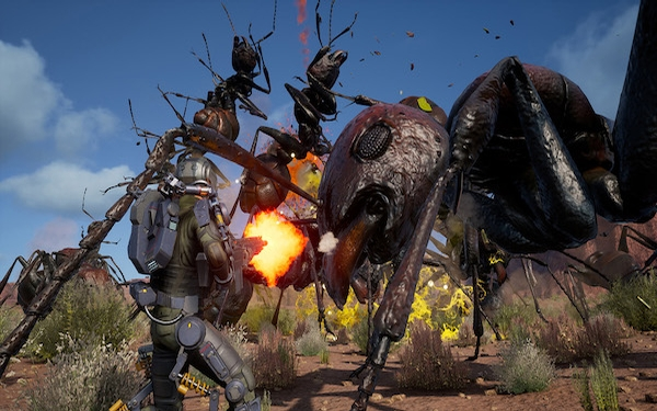 'Earth Defense Force: Iron Rain,' kills bugs dead