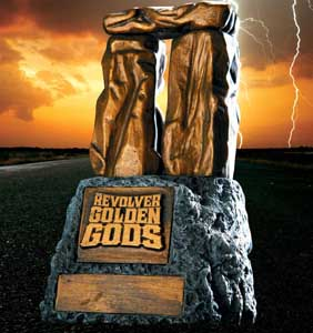 REVOLVER'S GOLDEN GODS AWARDS
