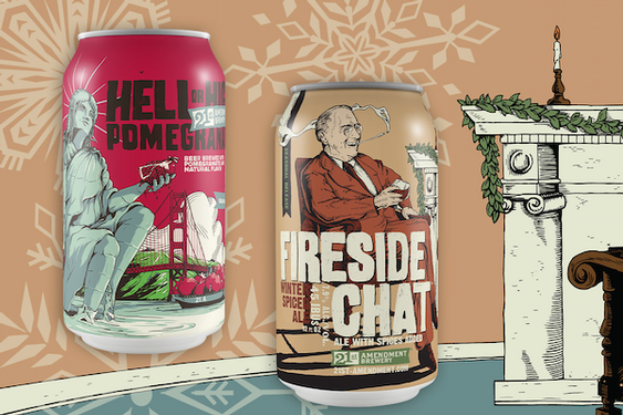21st Amendment Brewery Brews Up a Winter Wonderland of Seasonal Beers for the 2020 Holidays