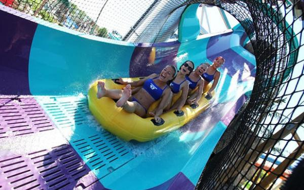 California's first hydromagnetic coaster opens at Raging Waters