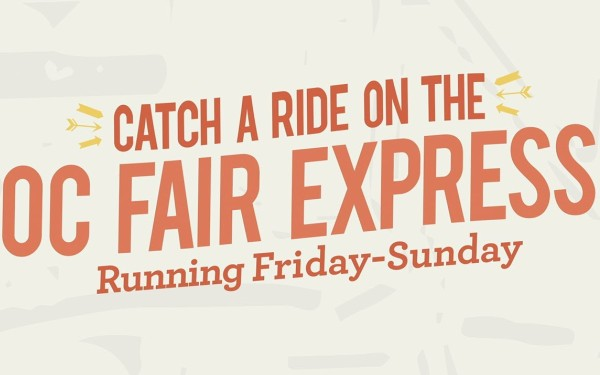 Going to the OC Fair? You can take an express bus