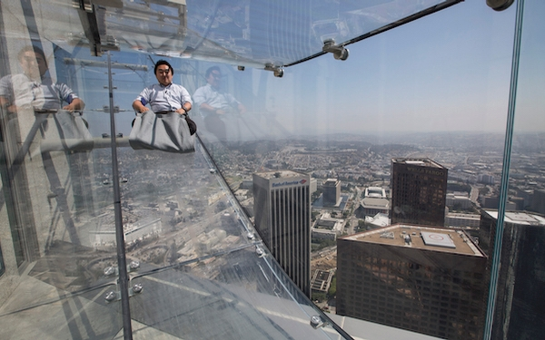 The Skyslide: A high-level trip above LA