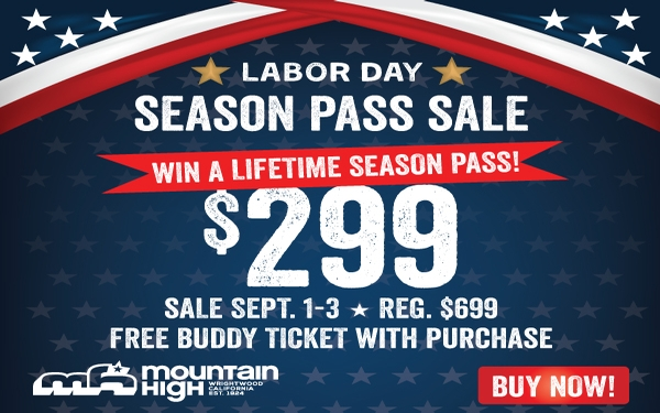 Win A Lifetime Season Pass to Mountain High