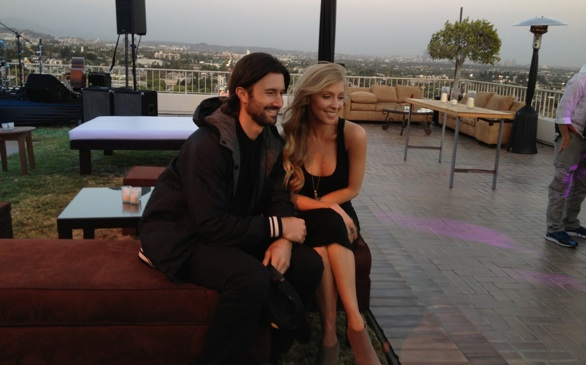 Brandon & Leah Rooftop Record Release Party