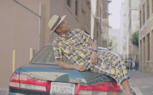 Pharrell Williams Debuts 'Happy' - World's First 24-Hour Music Video