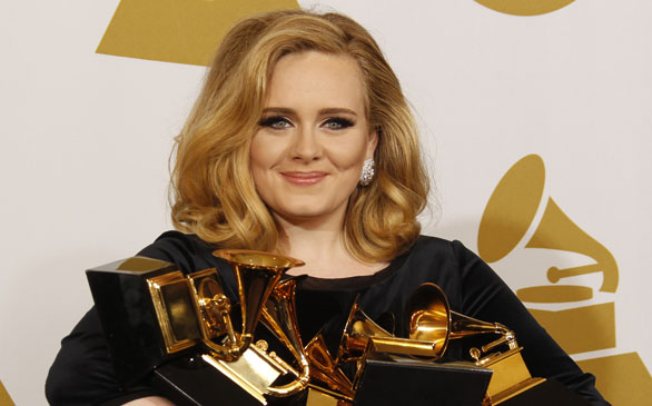 Adele Conquers Grammy Awards