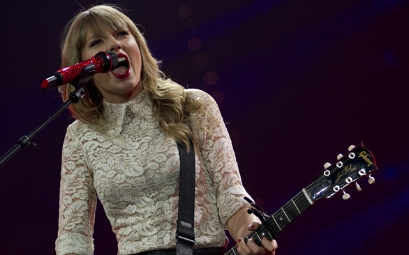Taylor Swift Uses Her Lyrics to Warn People of Trespassing
