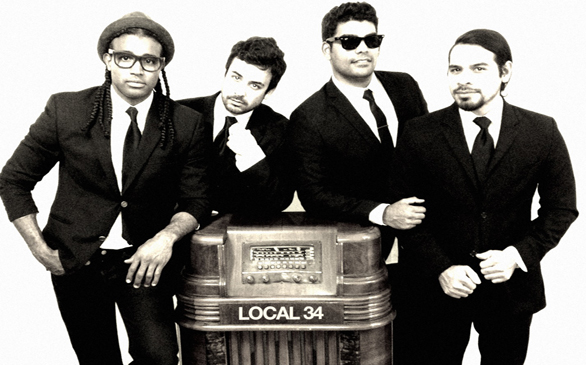 Local 34 Bring Pop, Rock, Tropical Fusion