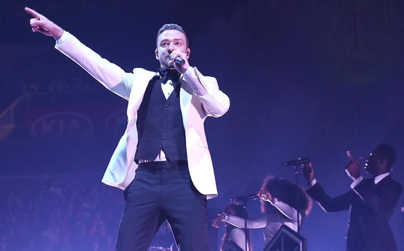 Justin Timberlake Announces Show at STAPLES Center