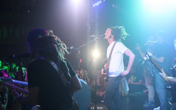 SOJA Runs the Troubadour During <i>Amid the Noise and Haste</i> Release Party