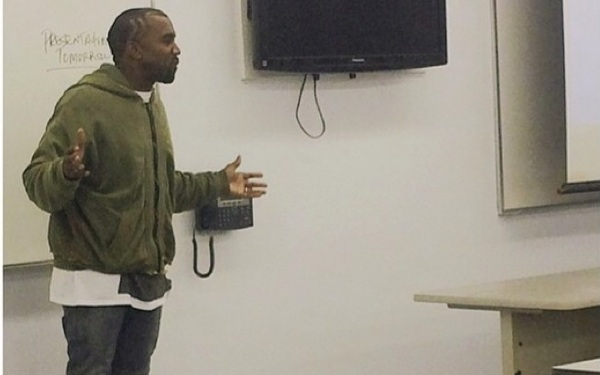 LOOK: Photos of Kanye West Teaching at LATTC Surface