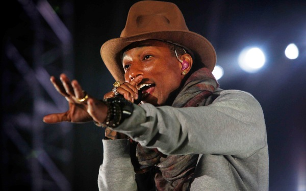 It was an uber stylish, successful and 'Happy' year for Pharrell Williams