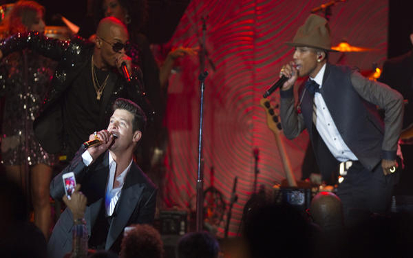 Robin Thicke set to take stand in 'Blurred Lines' plagiarism trial