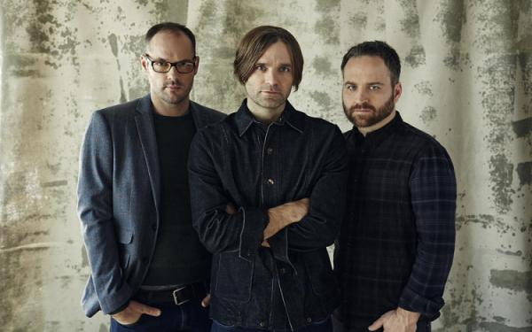 Death Cab for Cutie's Ben Gibbard steps through the fire