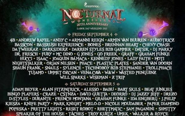 Nocturnal Wonderland to celebrate 20 years despite scrutiny of other local EDM events