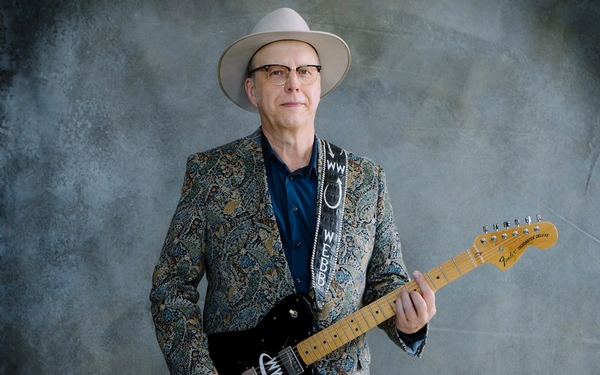 Webb Wilder has the blues, which is good for us