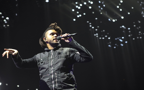 His hot year? Weeknd earned it