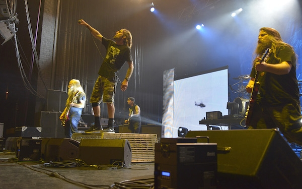 Lamb of God goes for the sturm und drang
