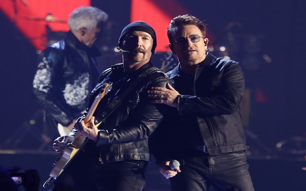 U2 announces 'Joshua Tree' anniversary tour